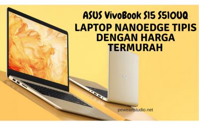 Asus VivoBook Laptop NanoEdge Tipis dengan Harga Termurah