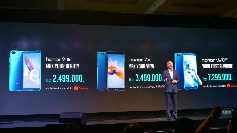 Grand Launching Honor Smartphone