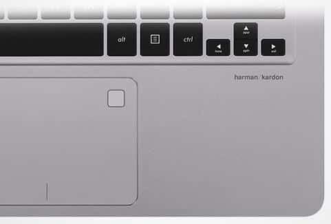 Asus Laptop Fingerprint Scanner. sumber: www.asus.com