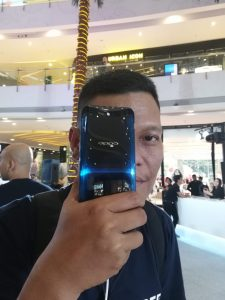Me with OPPO Find X