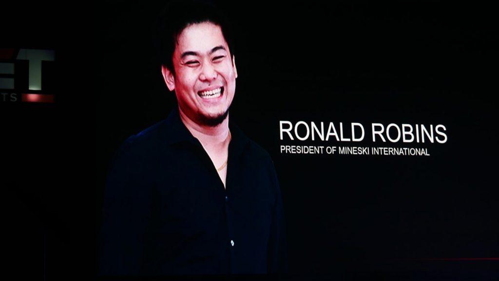 Ronald Robins - President Of Mineski International