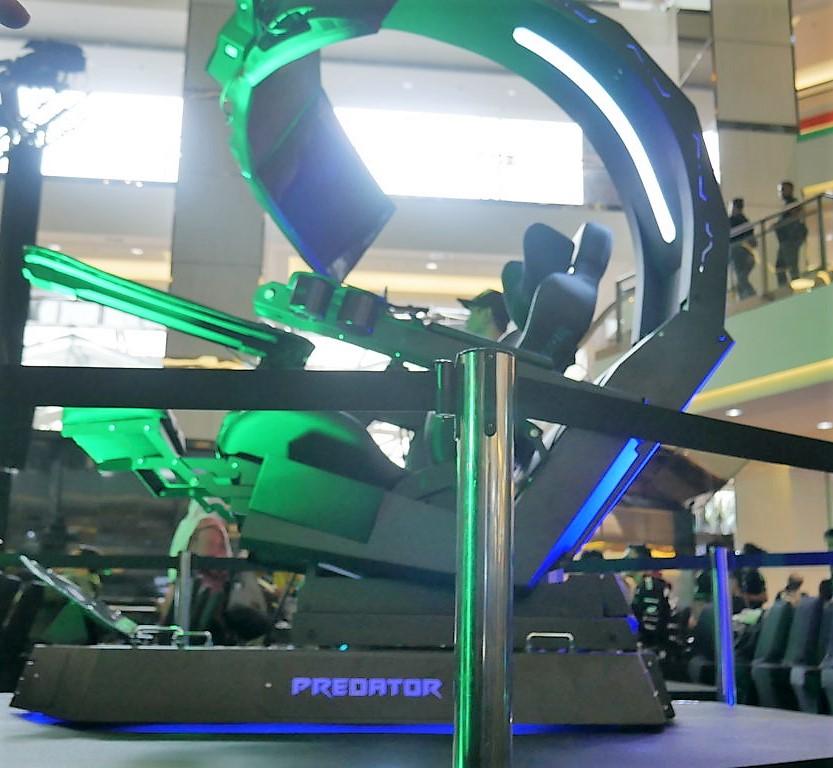 Predator Thronos di pamerkan - e-sport Turnamen Predator League 2019