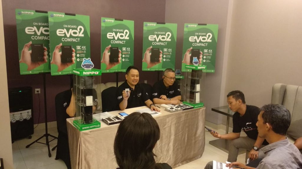 Powerbank Murah dan Mini, Hippo Evo2 Compact Launching