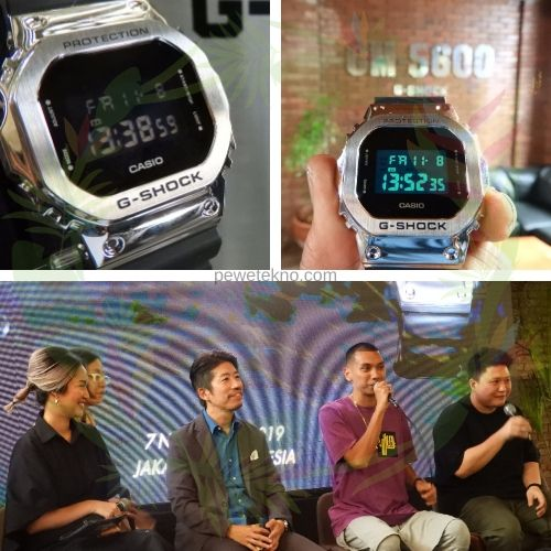 Hands On and Press Conference G-Shock Seri G-5600. dokpri