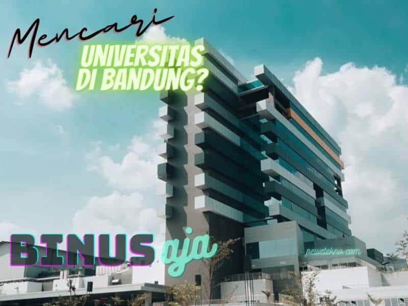 Mencari Universitas di Bandung