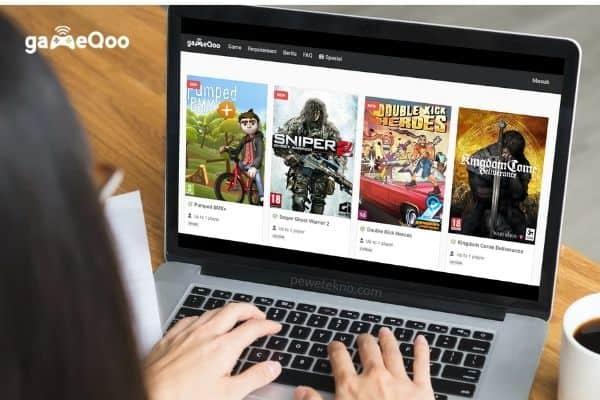 GameQoo sebagai salah satu penyedia game dengan teknologi cloud computing
